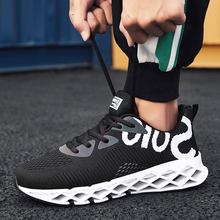 Men Sport Running Shoes 2019 Lace-up Exercise Sneakers Breathable Mesh Shoes Size 39-44 Sneakers for Men Trainnig Athletic Shoes 2018 new balance nb574 ms574 breathable sneakers badminton shoes for men and women lace up mesh sport shoes size 36 44 x