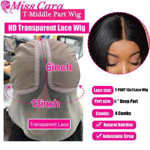 Misscara, бразильские прямые человеческие волосы, парики, предварительно сорванные для женщин, 100% Remy, прямой прозрачный T, часть 13x6x1, кружевные п...