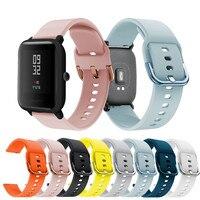 Cinturino sportivo in Silicone per Huami Amazfit Bip U Pro LITE 1s GTS2 2e Mini Smart Watch cinturino di ricambio per cinturino da polso accessori
