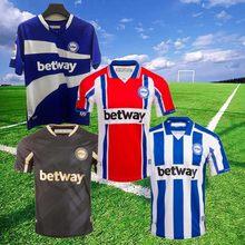 20 21 esportes alaves futebol jerseys 2020 2021 alaves 100th centenário camisa de futebol pere pons lucas joselu laguardia footb