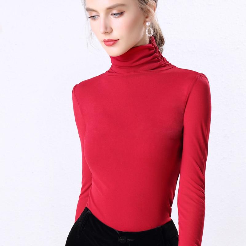 Autumn Korean Fashion Women Blouses Mesh Perspective Black Shirts Plus Size XXXL Womens Tops and Ladies