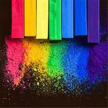 48 conjunto de lápis de cor de giz colorido pastel colorido desenho da arte do desenho da cor do giz escova artigos de papelaria para estudantes artigos de arte