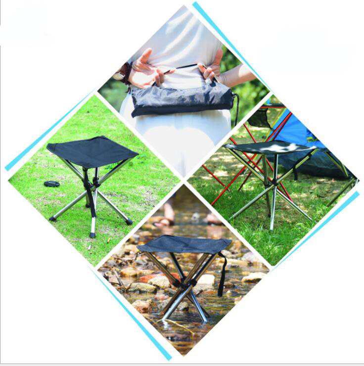 Naturehike Ultralight Foldable Beach Stool Hiking Chair Picnic Stool Portable Outdoor Folding Camping Chair Fishing Chair Seat