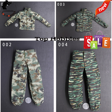 цена на 1/6 Scale Male Clothes Accessory Camouflage Uniforms Coat Pants Jacket Combat Peacekeeping Force Military F 12'' Soldier Figure
