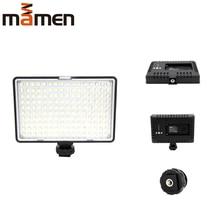 цена на MAMEN LED Video Fill Light Studio Light 3200K-5500K 160pc LEDs Lamp For Canon Nikon Sony DSLR Camera Photography Lighting