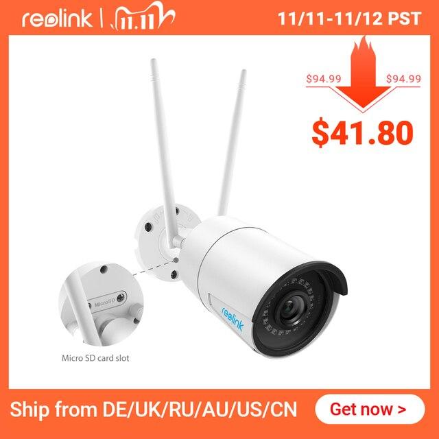 Reolink RLC 410W 4MP 2560x1440 2.4G & 5G מעקב חיצוני WiFi מצלמה HD IP מצלמה אלחוטי עמיד אבטחת מצלמה