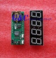 Reloj electrónico me DS1302 + termómetro + Voltag, pantalla led blanca de 0,56 pulgadas, 1 Uds.