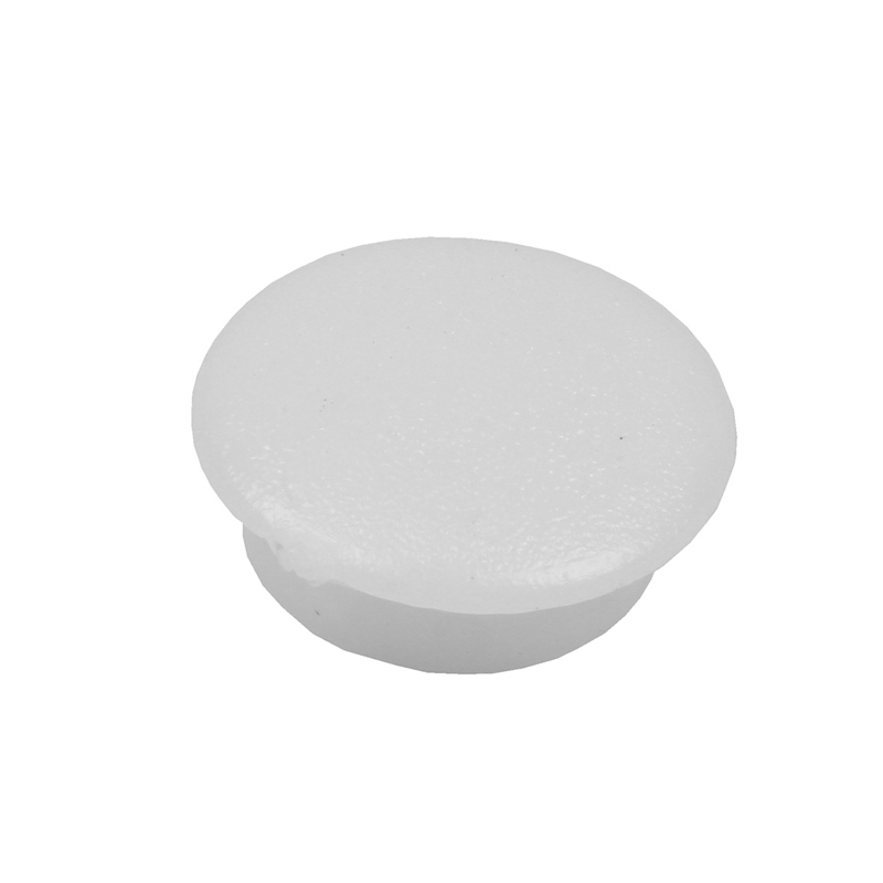 Hot XD-Blanking End Caps 10mm Dia Plastic Round Tubing Tube Inserts 10 Pcs
