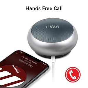 Image 3 - EWA A110 مكبر صوت بلوتوث لاسلكي محمول, يدعم بطاقة TF ، هاي فاي ، ستيريو ، IPX5 مقاوم للماء ، مكبرات صوت رياضية صغيرة ، اتصال بدون استخدام اليدين
