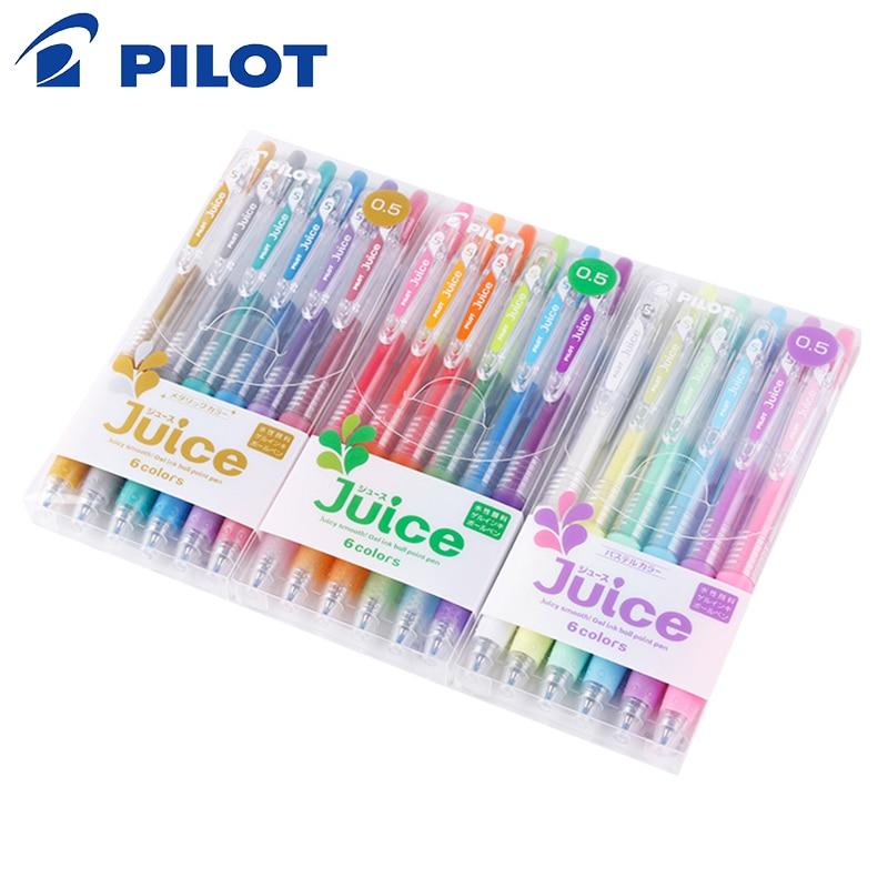 NEW Pilot retractable Juice 0.5mm gel ink//ball point pen 24 Colors Pack