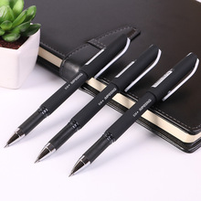 Deli 0.5mm Qality Black Gel Ink Pen Stationery Korean School Office Writing Supplies