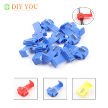 30 50 100PCS Electrical Wire Cable font b Connector b font Quick Splice font b Insulated