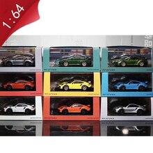 Модель спортивного автомобиля 911GT RS из сплава, модель спортивного автомобиля для взрослых, детей, мальчиков, коллекция игрушек, подарок, сув...