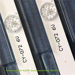 Image 3 - 4Pieces/lot 560mm 6v*6led New LED Strip For L32F3301B L32P1A 4C LB3206 HR03J HR01J 32D2900 32HR330M06A8 V1 32HR330M06A5 V5