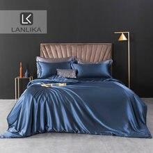 Lanlika евро роскошный комплект постельного белья домашний декор
