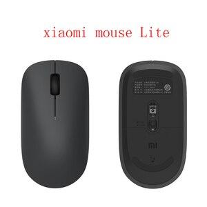 Image 2 - 100% oryginalny Xiaomi MI przenośna mysz zdalny bezprzewodowy optyczny RF 2.4GHz Dual Mode podłącz komputer Windows 7 / 8 / 10