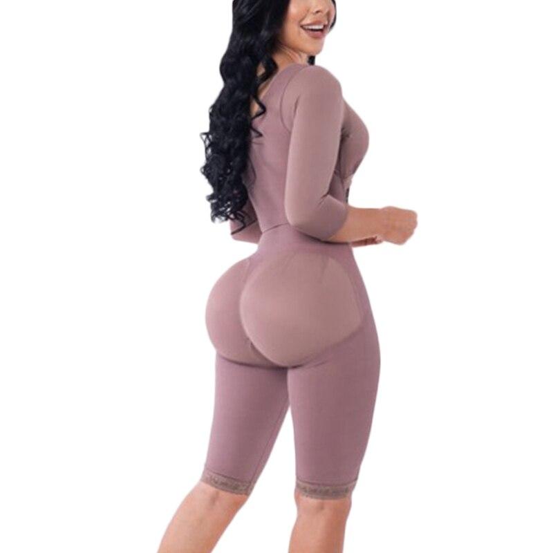 Corsetto da donna Post cintura chirurgica dimagrante Fajas Bodyshaper lungo doppia compressione Shapewear 1