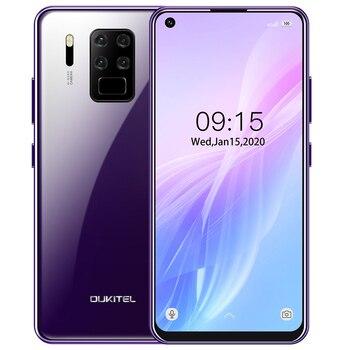 Перейти на Алиэкспресс и купить OUKITEL C18 Pro 6,55 дюйммобильные телефоны Android 9,0 4 задние камеры Восьмиядерный 4G смартфон 4 Гб + 64 Гб быстрая зарядка сотовый телефон