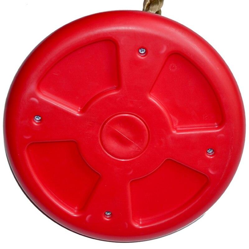 Corde d'escalade de gymnase de Jungle avec des plates-formes et le siège d'oscillation de disque - 3