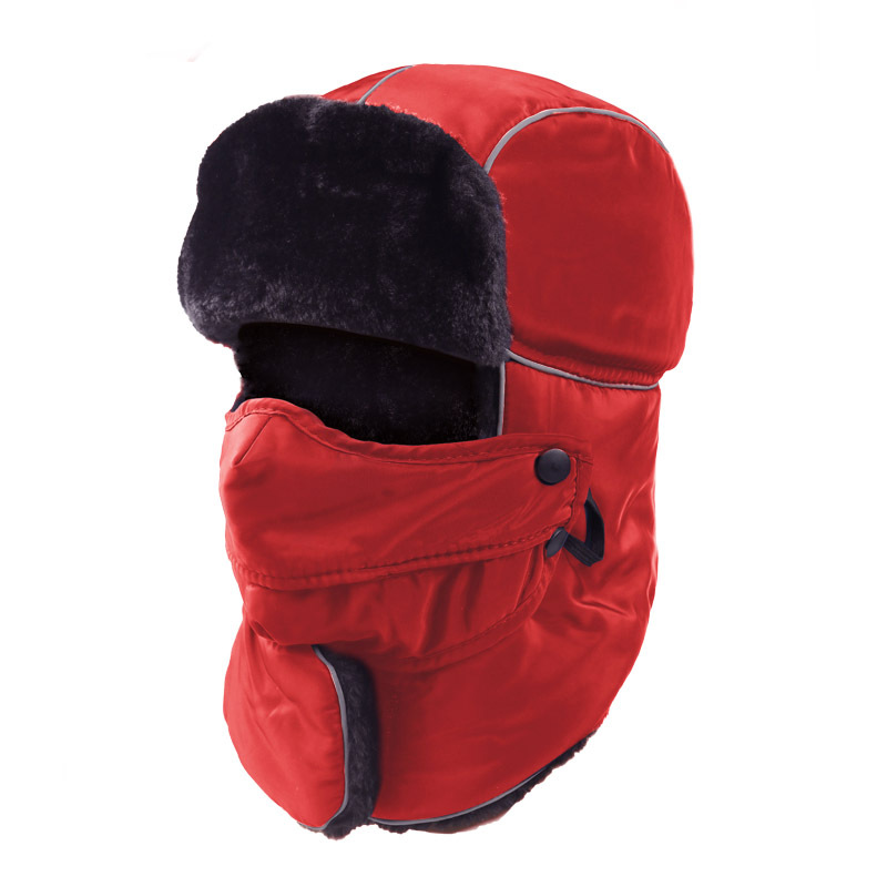 Hat Ushanka Winter New-Style Women for And Neck-Gaiter Youth Northeast Outdoor Cycling