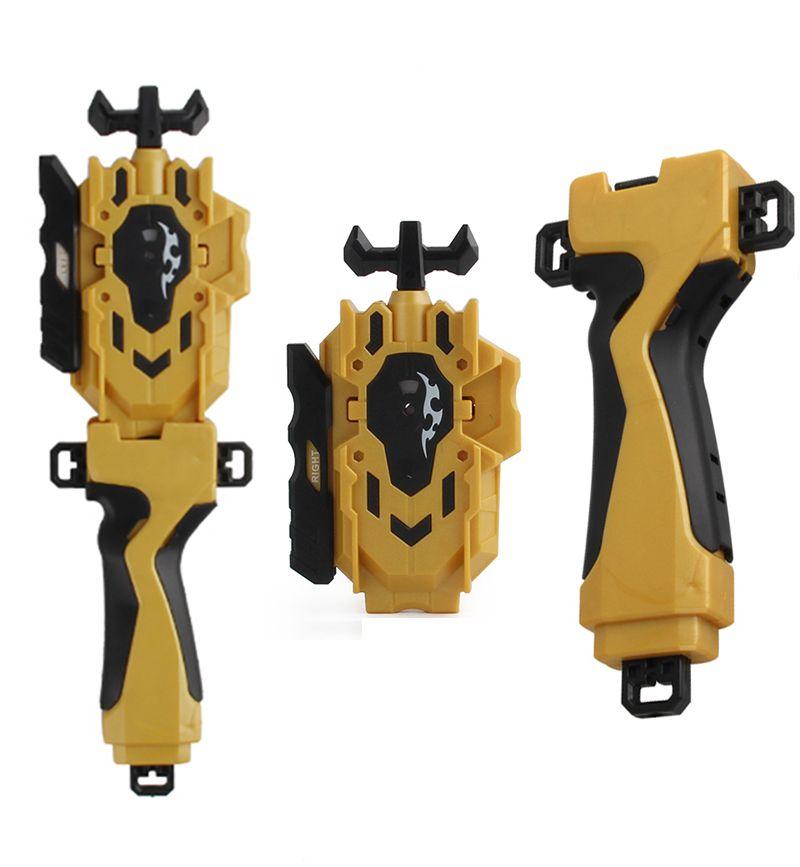 Снаряжение боевой гироскоп игрушки пусковое устройство вращающийся Топ Двусторонняя вращающаяся рукоятка Съемник линейка передатчик руч...