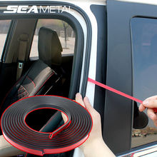 Car-styling Car Door Edge Seal Strips Rubber Weatherstrip Sealing Cars Auto Interior Trunk Trim Seal Universal Auto Accessories(China)