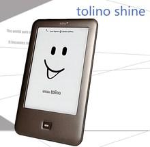 Tolino Shine1 страница для чтения электронных книг WI-FI e чернила для чтения электронных книг 4 Гб e-ink 6 дюймов сенсорный экран 1024x758 встроенный свети...