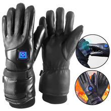 Mittens Heated-Gloves Battery Touch-Screen Cycling Skiing Warm Winter Windproof Charging-Powered