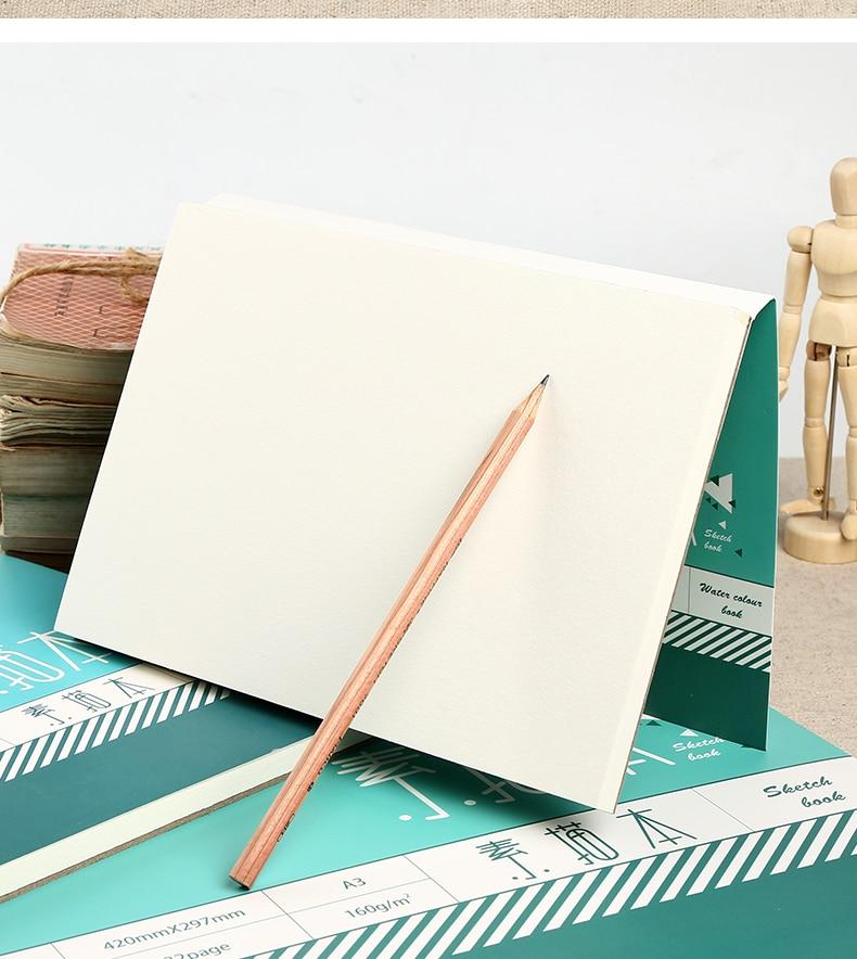 da aguarela, simplicidade desenhada à mão, livro