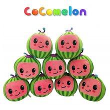 Cantar melão jj cocomelon brinquedos de pelúcia crianças presente bonito brinquedo de música recheado boneca de pelúcia educacional