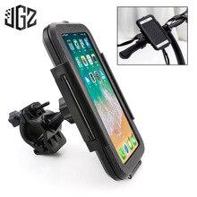Motorcycle 22-28mm Phone Stand Holder Case Universal Waterproof Bag GPS Handlebar Bracket Mount For Yamaha Triumph Kawasaki KTM