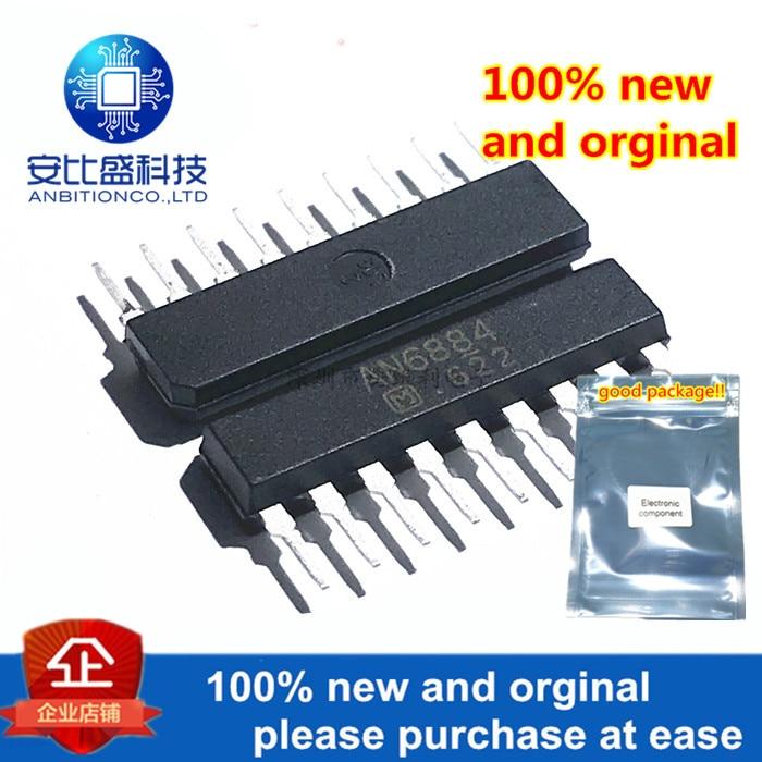 10pcs 100% New And Orginal AN6884 SIP-9 5-Dot LED Driver Circuit In Stock
