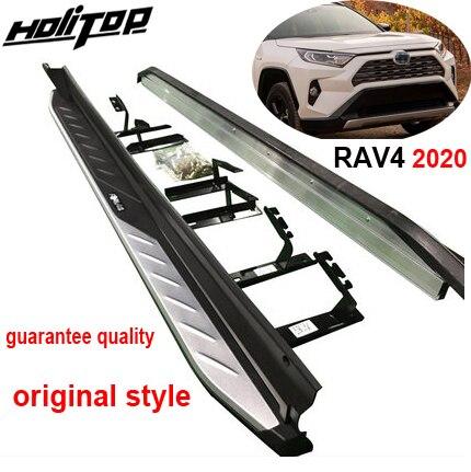 Новое поступление, боковая подножка nerf для Toyota RAV4 2019 2020 2021, модель OE, гарантия качества, поставка от старого продавца