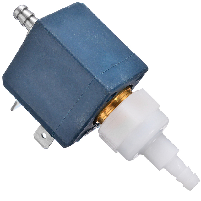 1pc nouveau acier inoxydable Ceme modèle ET200BR ET 200 BR pompe à eau vanne électromagnétique Machine à café eau vanne 230V 50Hz