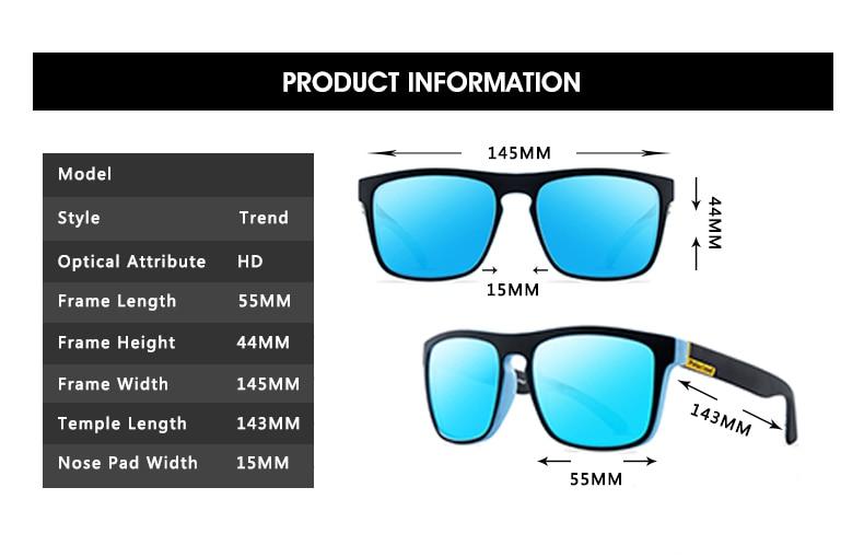 Polarized Sunglasses Men's Driving Shades Male Sun Glasses For Men Retro Cheap Luxury Women Brand Designer UV400 Gafas 4