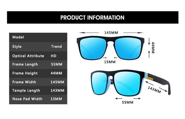 Gafas de sol polarizadas para hombre y mujer, lentes de sol masculinas para conducir, Retro, de lujo, de marca, de diseñador, UV400, 2021 4