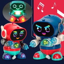 Children Electric Dancing Robots for Kids Toy Rock Light Music Early Education Walking Hot Seller Toys Boys Girls Babys Toddlers