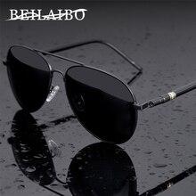 Męskie markowe okulary przeciwsłoneczne projektant męskie polaryzacyjne okulary pilotki okulary gafas oculos de sol masculino dla człowieka okulary dla kierowcy