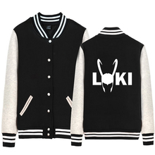 Thor Helmet Loki Helmet Lokis Army Man jacket Boy Coat Single breasted Baseball Fleece Autumn Winter Couple Clothes ZIIART