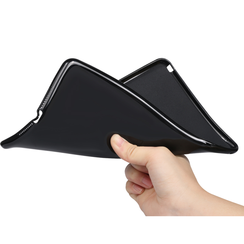 Soft case Black Tablet Case for iPad 7th 8th Generation Leather Stand Cover Apple iPad 10 2 2019 A2197