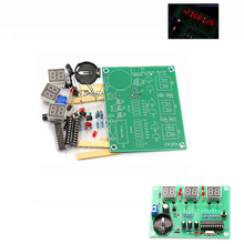 DIY Kits AT89C2051 Electronic Clock Digital Tube LED Display Suite Elec