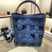 Larger Capacity Woman Buckets 2021 New Fashion Genuine Leather Bag One Shoulder Bags Ladies Purse and Handbags Channels Handbags