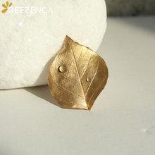 Женская Брошь с золотым покрытием ювелирное изделие из серебра