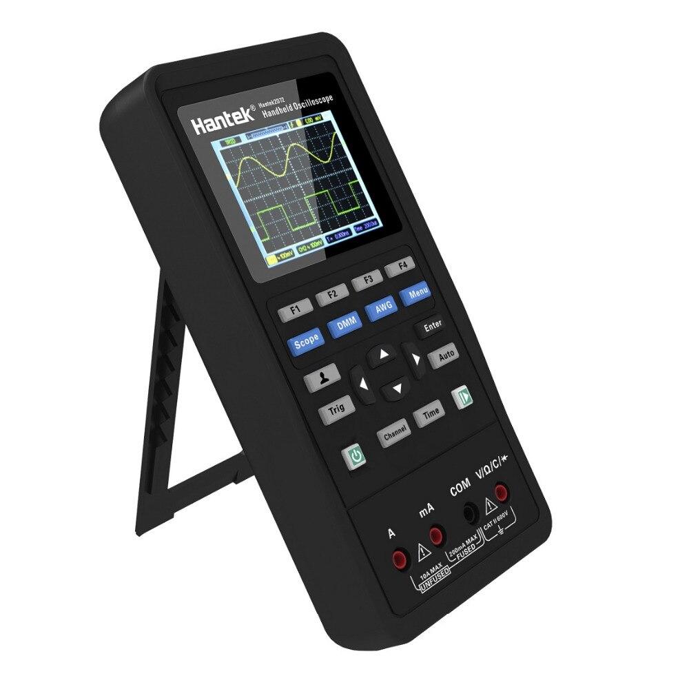 Hantek2C42 2C72 2D42 2D72 3in1 цифровой осциллограф + генератор сигналов + мультиметр Портативный USB 40 МГц 70 МГц 2 Каналы Тесты метр