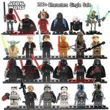 Одна распродажа, Звездные войны, фигурки йода, Obi Wan, Хан, Solo clone troopers, Sith, классические фигурки, совместимые с legoe, игрушки, подарки
