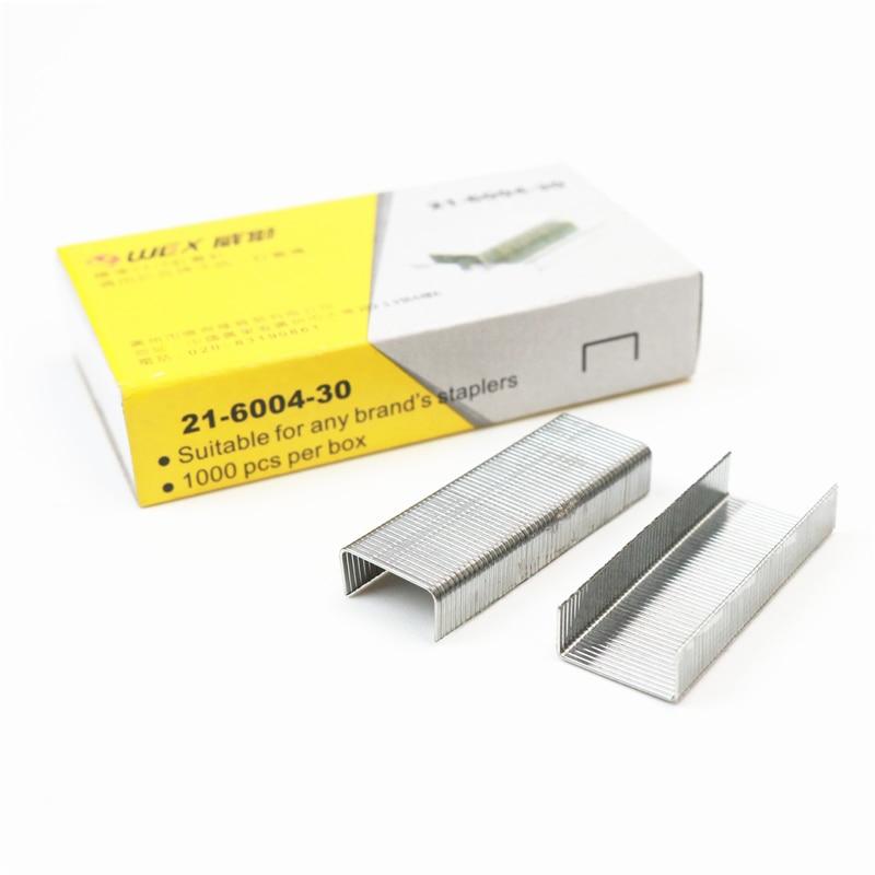 10 boxes of staples 1000 pcs per box 24/6 Regular Standard Staples Office stapler