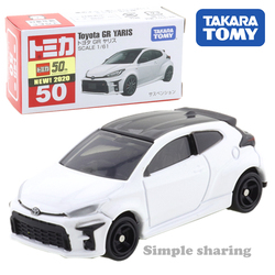 Takara tomy tomica no.50 toyota gr yaris carro pop quente crianças brinquedos do veículo motor diecast modelo de metal