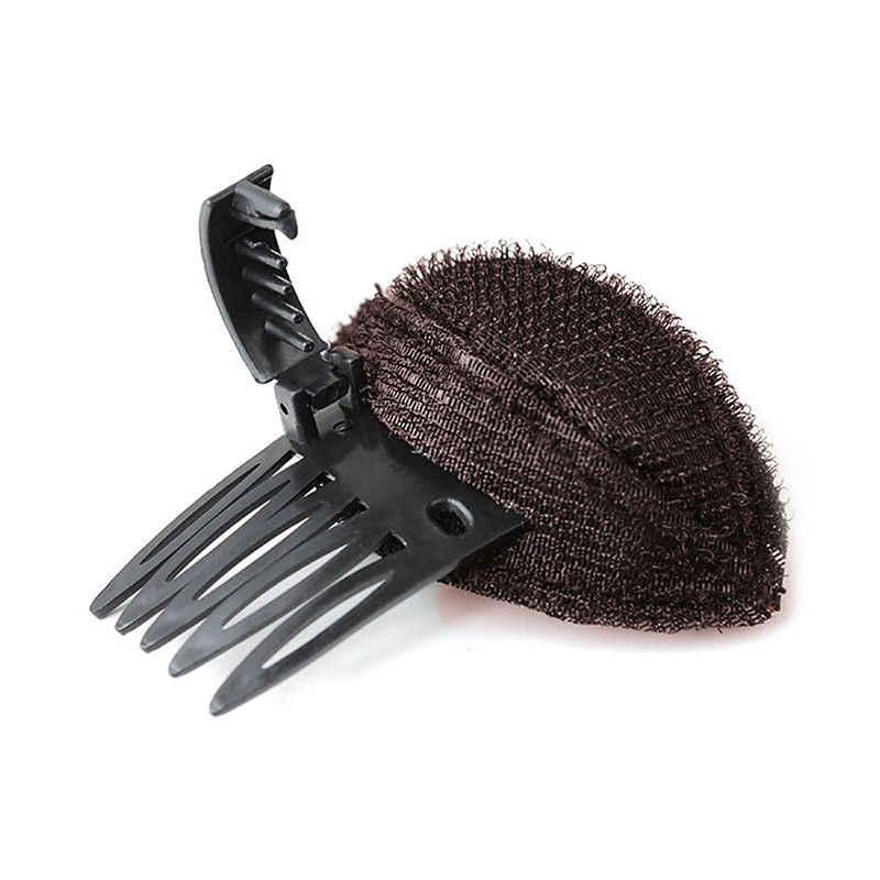1 قطعة Hot البيع حجم كبير Forehead حجم الشعر Fluffy الإسفنج كليب الشعر مشط النساء المهنية ماكياج مشط تصفيف الشعر أداة