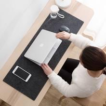 New Office Computer Large Desk Mat Table Keyboard Big Mouse Pad Wool Felt Laptop Cushion Desk Non-Slip Mat Gamer Mouse Pad Mat