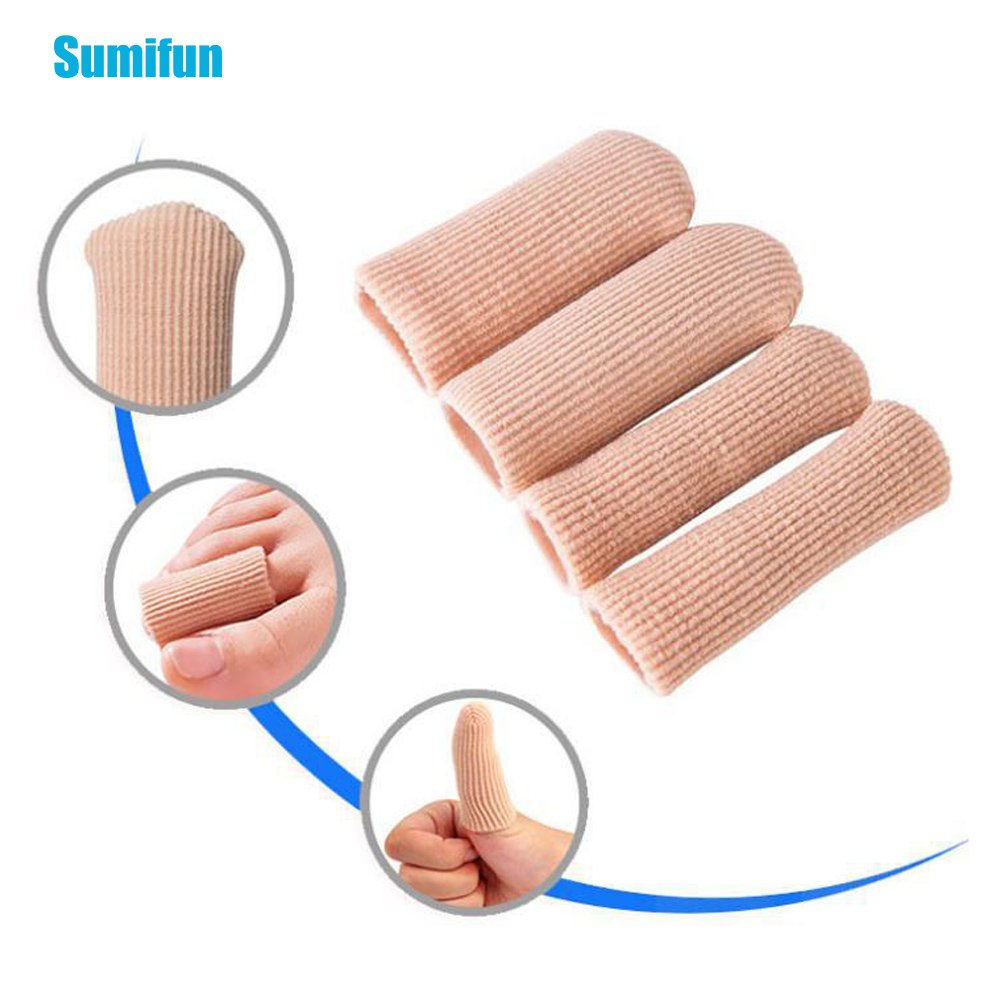 1pcs Toe Protectors Silicone Stretched Cuttable Tube Moisturizing Protector For Toe Bunion Corn Callus Feet Pain Relief Size M L